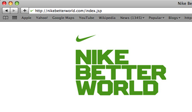 Nike Better World