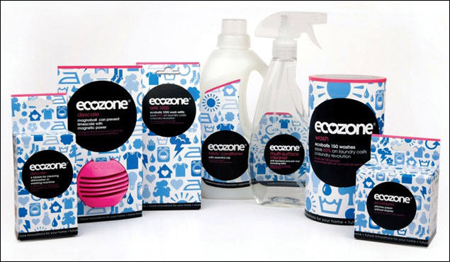 Ecozone cleaning products obsessivelyobserved for Innovative household items